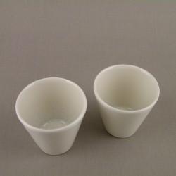 Gobelets à café Vuelta perle, Jars (par 6)