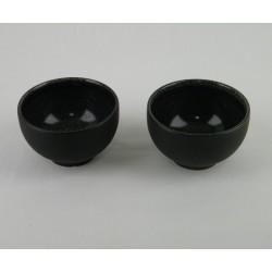 Bol à thé mini Tourron celeste, Jars