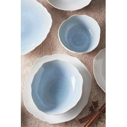 Service d'assiettes Plume, Jars (12 pièces)