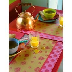 Sets de table enduits Zingaro Folk LJF by Le Jacquard Français (par 4)
