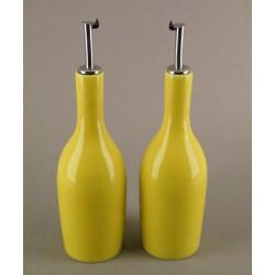 Huilier ou vinaigrier Tourron citron, Jars