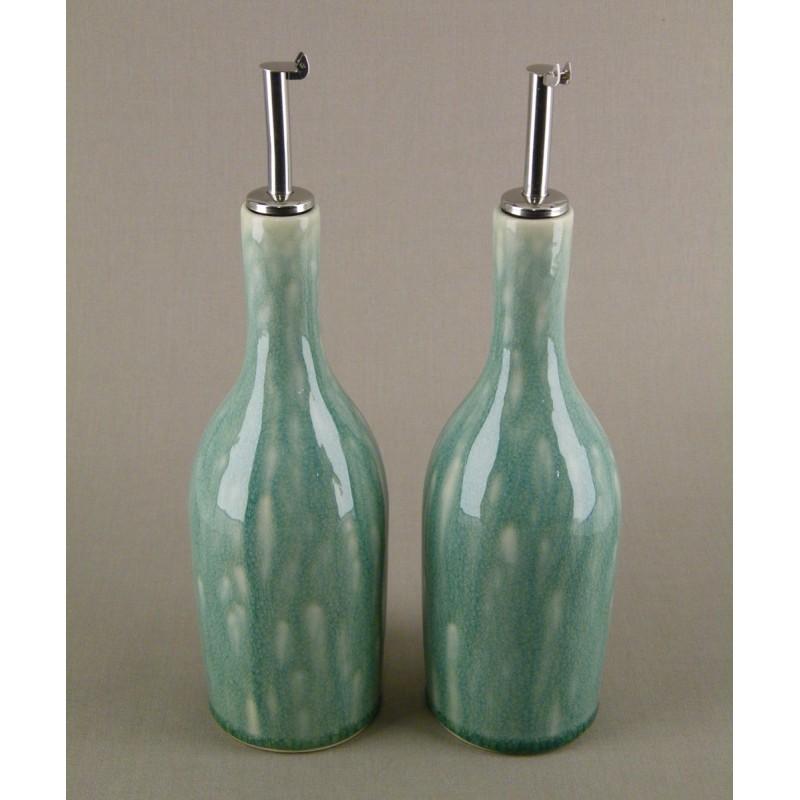 huilier vinaigrier gr s maill design vert jade acheter vinaigrier ceramique jars. Black Bedroom Furniture Sets. Home Design Ideas