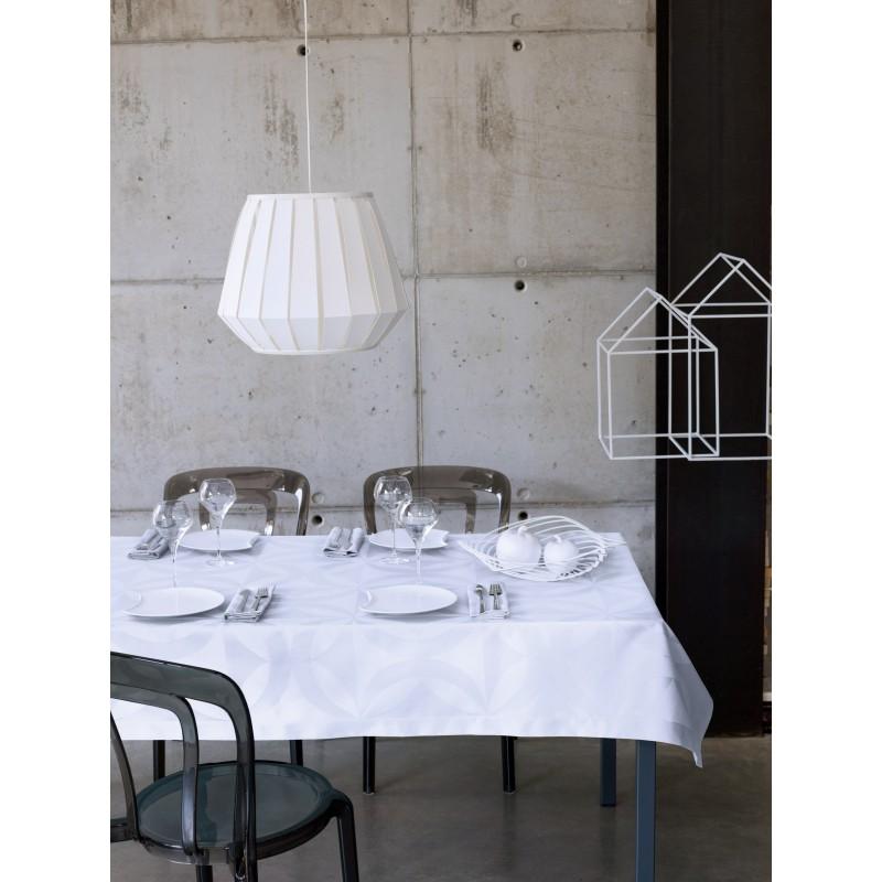 nappe en coton enduit haute qualit actuel blanc le. Black Bedroom Furniture Sets. Home Design Ideas