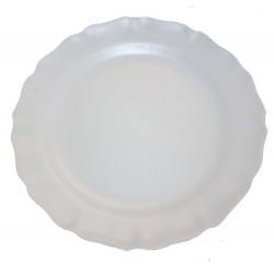 Assiette plate Les Colors Blanc, Louis Sicard