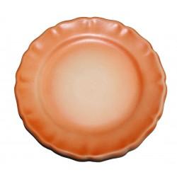 Assiette plate Les Colors Orange, Louis Sicard