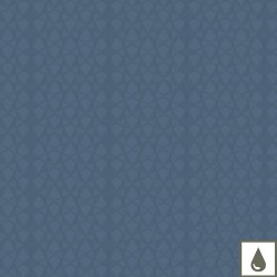 Tissu enduit Mille Fjords Oxygène laize 180cm, Garnier-Thiébaut