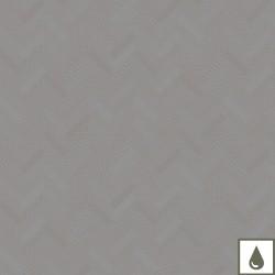 Nappe enduite sur mesure Mille Mosaic Iron laize 180cm, Garnier-Thiébaut