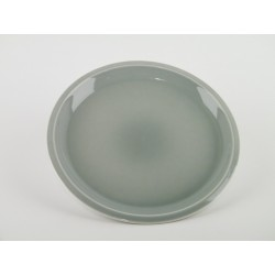 Assiette plate Cantine Gris oxyde, Jars