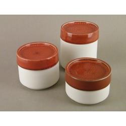 Boîte céramique cerise, Jars