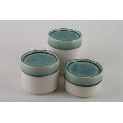 Boîte céramique jade, Jars