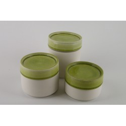 Boîte céramique tilleul, Jars