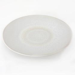 Assiettes de présentation Vuelta perle, Jars (par 4)