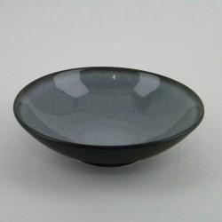 Assiettes creuses Tourron écorce, Jars (par 4)