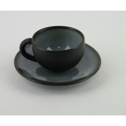 Tasses à moka Tourron écorce, Jars (par 4)