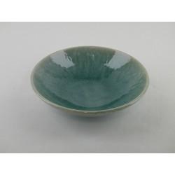 Assiettes creuses Tourron jade, Jars (par 4)