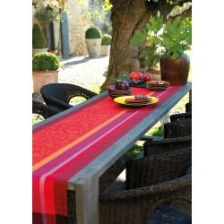 Vis-à-vis / chemin de table Provence Gariguette