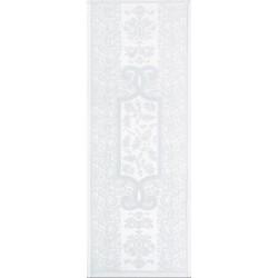 Vis-à-vis / chemin de table Siena Blanc