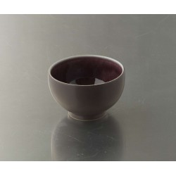 Bol à thé mini Tourron aubergine, Jars