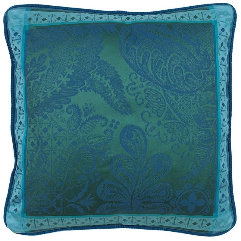 coussin d coration chic bleu emeraude. Black Bedroom Furniture Sets. Home Design Ideas