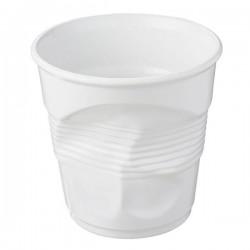 Pot à ustensiles froissé blanc, Revol