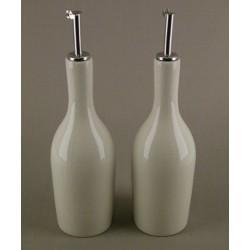 Huilier ou vinaigrier Tourron quartz, Jars