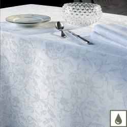 Tissu enduit Mille Charmes Blanc laize 180cm, Garnier-Thiébaut