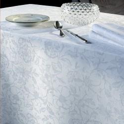 Tissu sur mesure Mille Charmes Blanc Garnier-Thiébaut