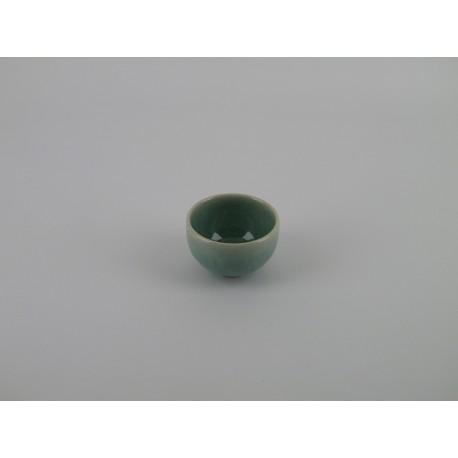 Bol à thé mini Tourron jade, Jars