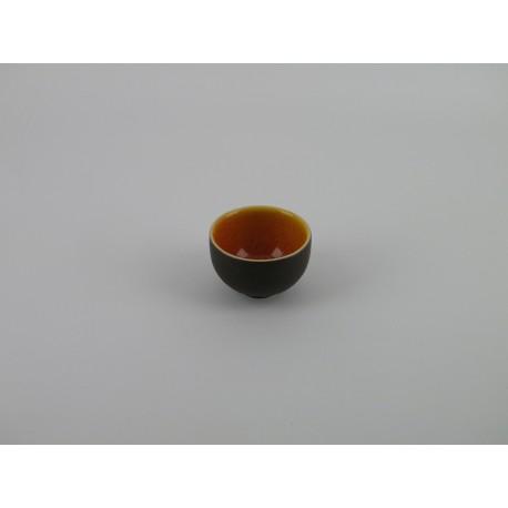 Bol à thé mini Tourron orange, Jars