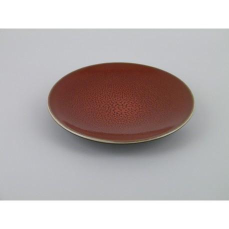 assiette design ceramique rouge service de table c ramique. Black Bedroom Furniture Sets. Home Design Ideas