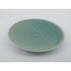Assiette de présentation Tourron jade, Jars