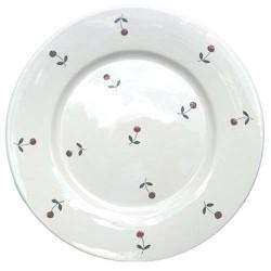 Assiette plate Semis Blanc, Faïences provençales