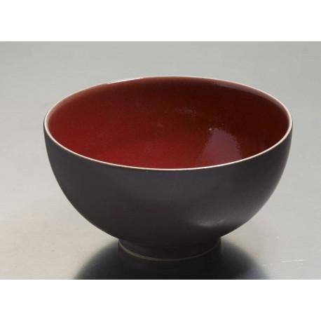 Bol Ø 15.5 cm Tourron rouge cerise - Jars Céramistes