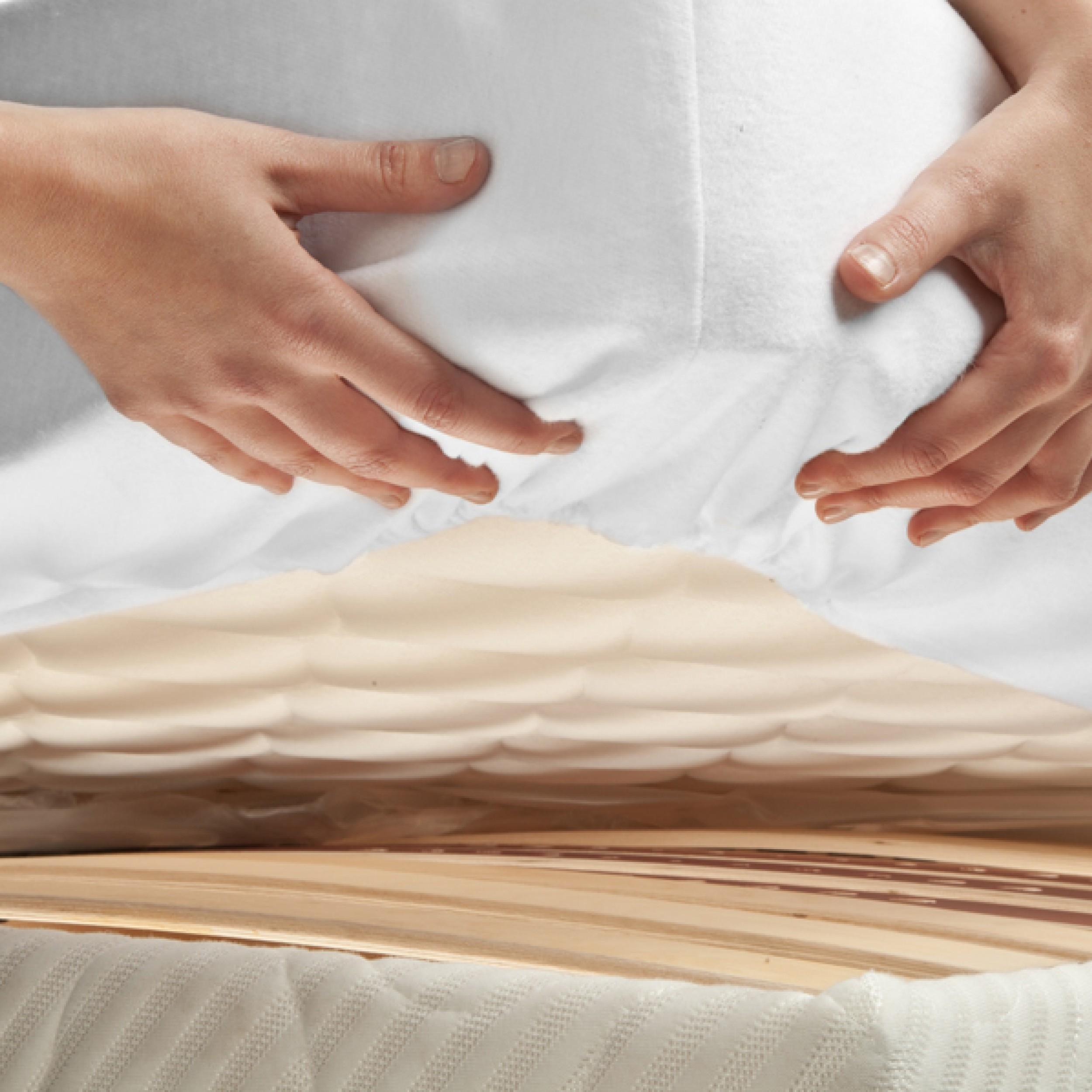 Lit Matelas imperméables Housse Protection Avec une haute qualité en coton brossé pour...