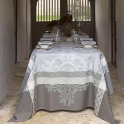 Tissu enduit Azulejos Ciment laize 180cm, Le Jacquard Français