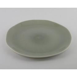 Assiette plate Maguelone Cachemire, Jars Céramistes