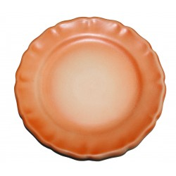 Assiette plate Les Colors Orange, Louis Sicard