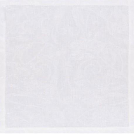 Serviettes Tivoli Blanc pur lin