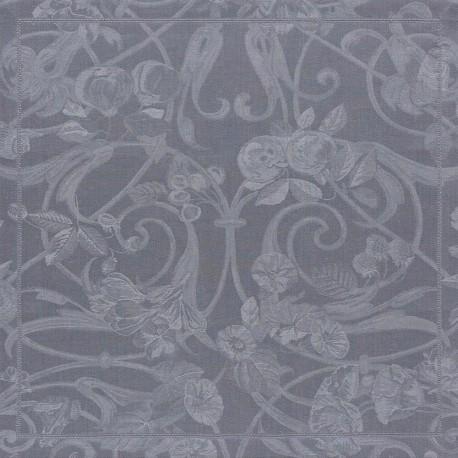 Serviettes de table Tivoli Flanelle pur lin, Le Jacquard Français