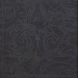 Serviettes de table Tivoli Onyx pur lin, Le Jacquard Français