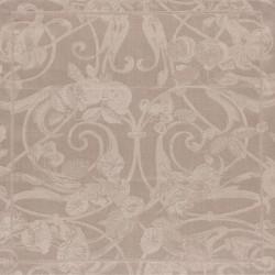 Serviettes de table Tivoli Poivre gris pur lin, Le Jacquard Français (par 4)
