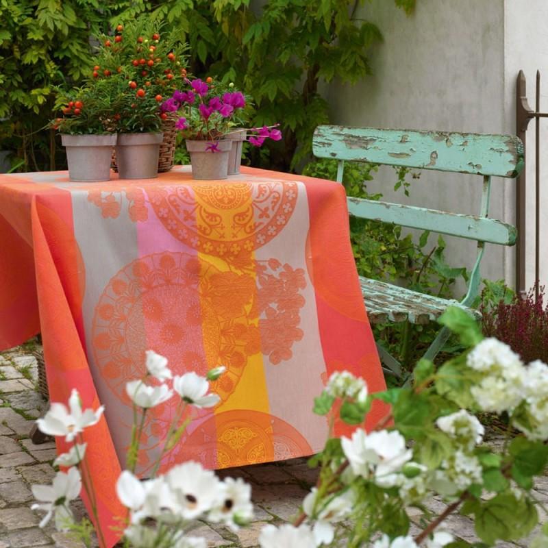 nappe enduite sur mesure campagne chic jardin qualit. Black Bedroom Furniture Sets. Home Design Ideas