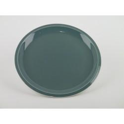Assiette plate Cantine Vert de chaux, Jars