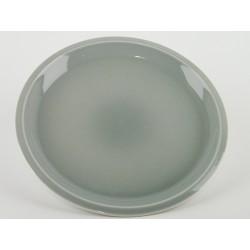 Assiette plate XL Cantine Gris oxyde, Jars