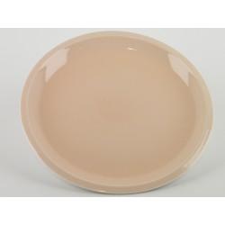 Assiette plate XL Cantine Rose buvard, Jars