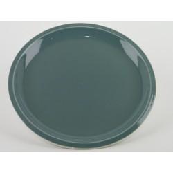Assiette plate XL Cantine Vert de chaux, Jars