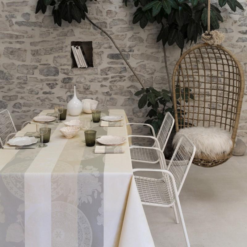 nappes enduites jardin campagne cuisine. Black Bedroom Furniture Sets. Home Design Ideas