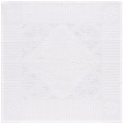 Serviettes de table Bosphore Blanc (par 4)