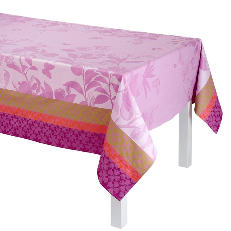 nappe enduite estival campagne mauve le jacquard fran ais. Black Bedroom Furniture Sets. Home Design Ideas