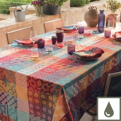 nappes enduites fantaisie original multicolore. Black Bedroom Furniture Sets. Home Design Ideas